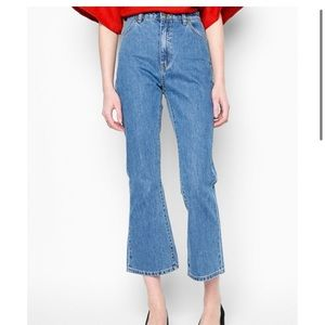 Rolla's East Coast Crop High Rise Flare Jeans